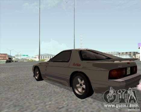 Mazda Savanna RX-7 FC3S for GTA San Andreas left view