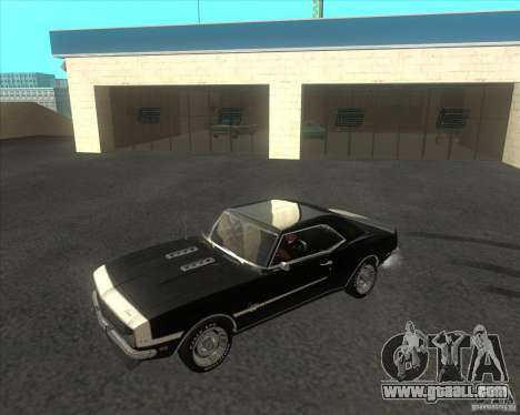 Chevrolet Camaro RSSS 396 1968 (fixed) for GTA San Andreas