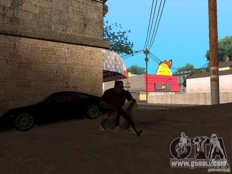 AK-47 HD for GTA San Andreas second screenshot