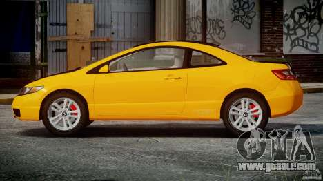 Honda Civic Si Coupe 2006 v1.0 for GTA 4 side view