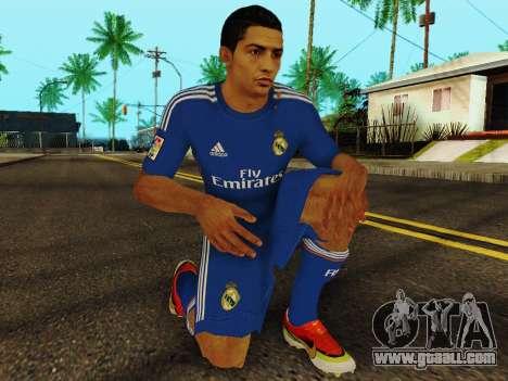 Cristiano Ronaldo v2 for GTA San Andreas fifth screenshot