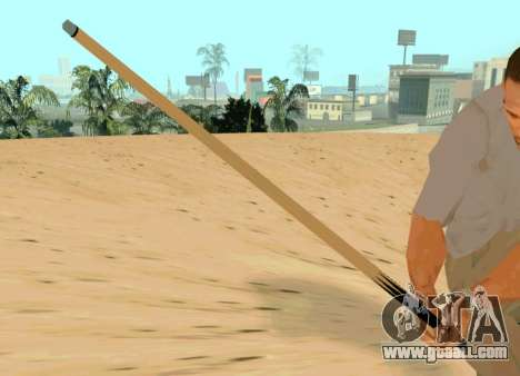 New cue for GTA San Andreas third screenshot