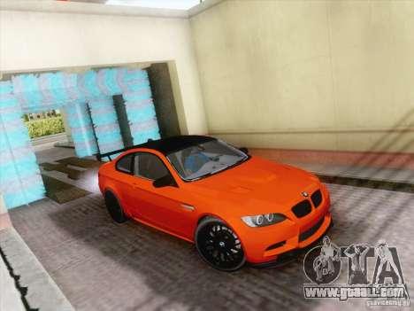 Functional car wash for GTA San Andreas