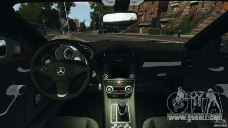 Mercedes-Benz SLK 55 AMG 2010 for GTA 4 back view