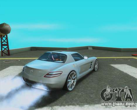Mercedes-Benz SLS AMG 2010 v.1.0 for GTA San Andreas left view