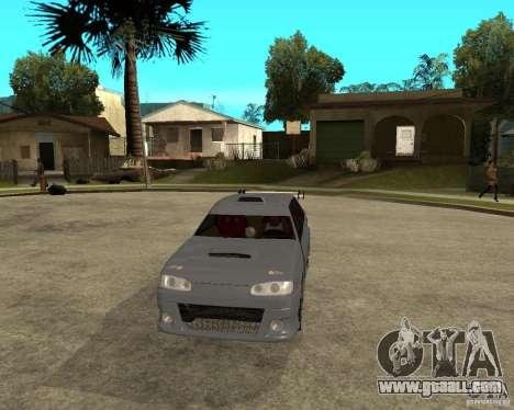 VAZ 2115 MCC for GTA San Andreas back view