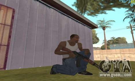 Kalashnikov Modernized for GTA San Andreas second screenshot