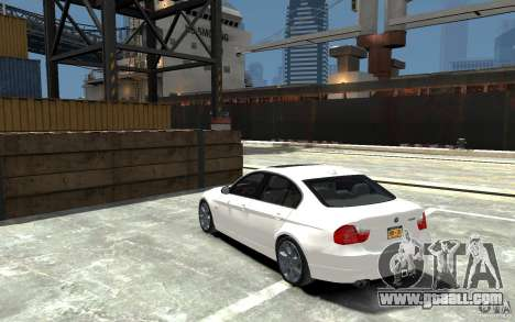 BMW 330i E90 for GTA 4 back left view