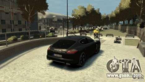 PORSCHE Panamera Turbo for GTA 4 right view