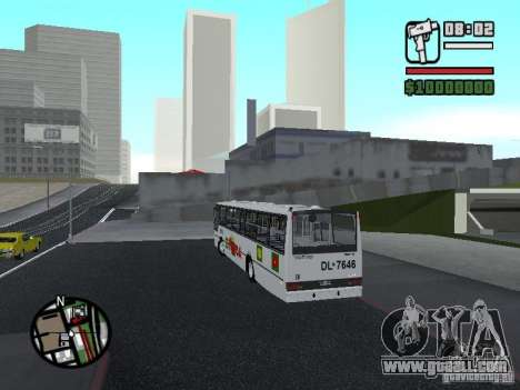 CAIO Padron Vituria Volvo B58 for GTA San Andreas inner view