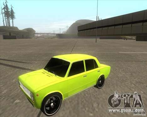 VAZ 2101 car tuning version for GTA San Andreas