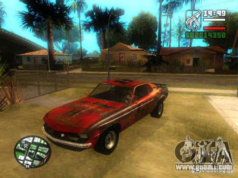 Blade of FlatOut for GTA San Andreas