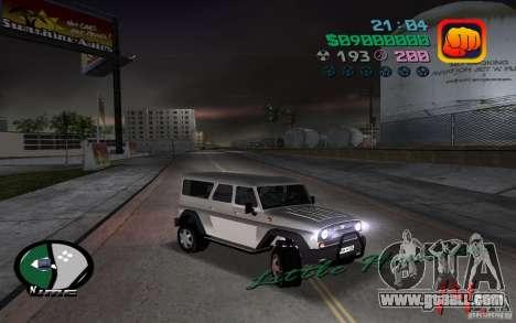 UAZ-3159 for GTA Vice City