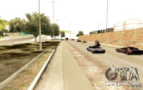 A new algorithm for car traffic for GTA San Andreas third screenshot