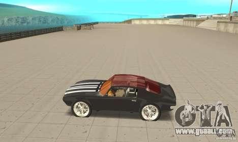 Pontiac Flamingo for GTA San Andreas left view
