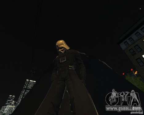 Dart Vader for GTA 4 second screenshot