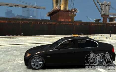 BMW 330i E90 for GTA 4 left view