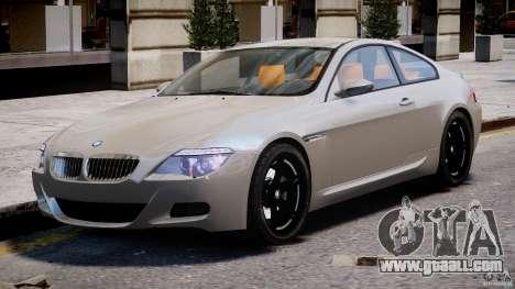 BMW M6 G-Power Hurricane for GTA 4 left view