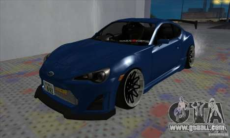 Subaru BRZ JDM for GTA San Andreas