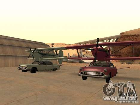 Car-plane for GTA San Andreas right view