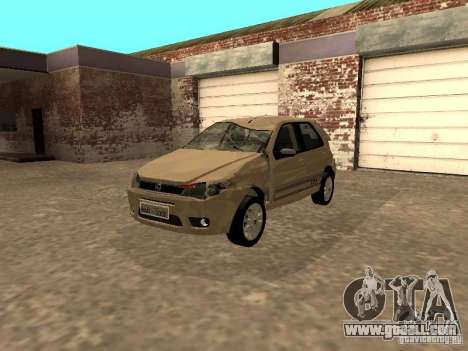 Fiat Palio 1.8R for GTA San Andreas inner view