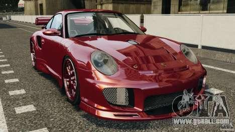 Porsche 997 GT2 Body Kit 1 for GTA 4