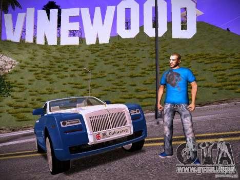 Niko Bellic Reload Beta 0.1 for GTA San Andreas forth screenshot