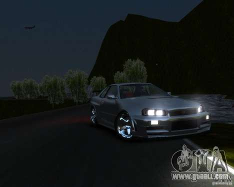 Rocky Drift Island for GTA 4 forth screenshot