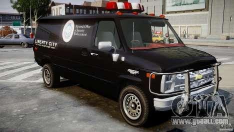 Chevrolet G20 Van V1.1 for GTA 4 right view