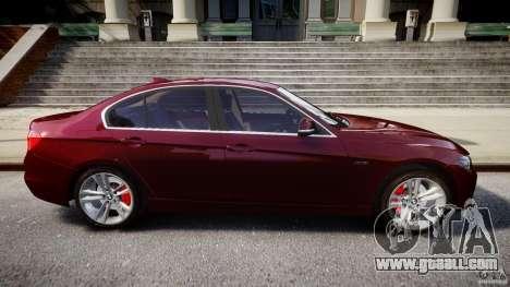 BMW 335i 2013 v1.0 for GTA 4 upper view