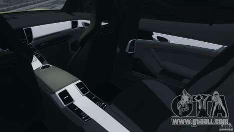 Porsche Panamera Turbo 2010 for GTA 4 inner view