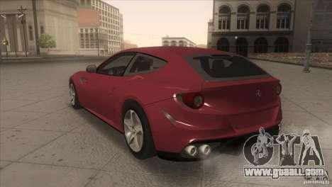 Ferrari FF 2011 V1.0 for GTA San Andreas right view