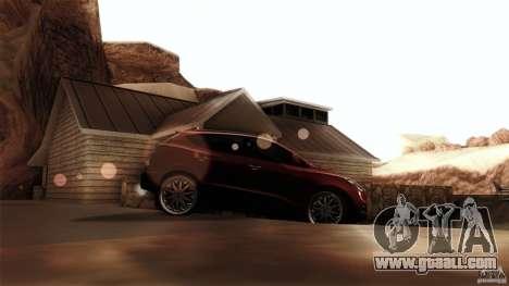 Hyundai iX35 Edit RC3D for GTA San Andreas left view