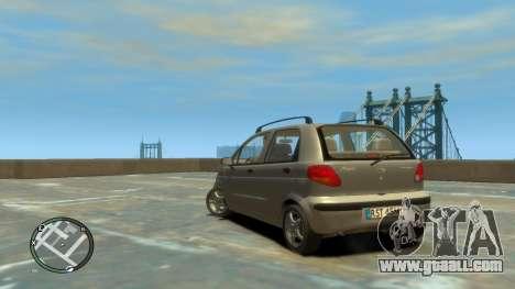 Daewoo Matiz Style 2000 for GTA 4 left view