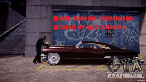 Buick Custom Copperhead 1950 for GTA 4