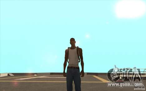 Parachute for GTA San Andreas third screenshot