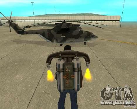 MI-26 for GTA San Andreas right view
