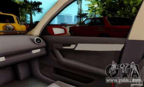 Audi A3 Sportback 3.2 Quattro for GTA San Andreas back view