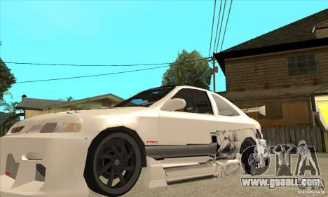 Honda Civic Tuning Tunable for GTA San Andreas