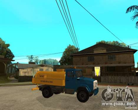 ZIL-433362 Extra Pack 2 for GTA San Andreas side view