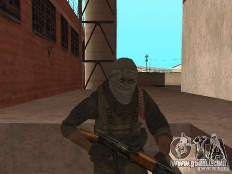 Dušman 2 from COD4MW for GTA San Andreas third screenshot