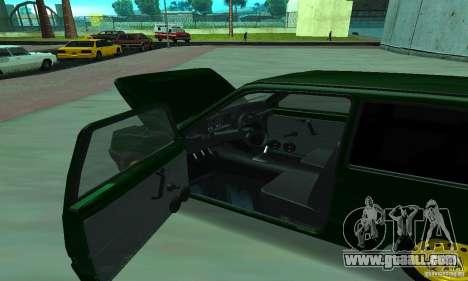 VAZ 1111 Oka for GTA San Andreas back view