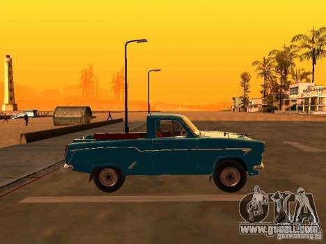 Moskvitch 407 Pickup for GTA San Andreas left view