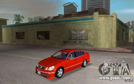 Lexus GS430 for GTA Vice City