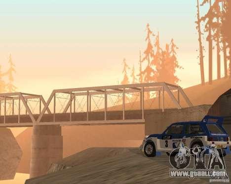 MG Metro 6M4 Group B for GTA San Andreas back view