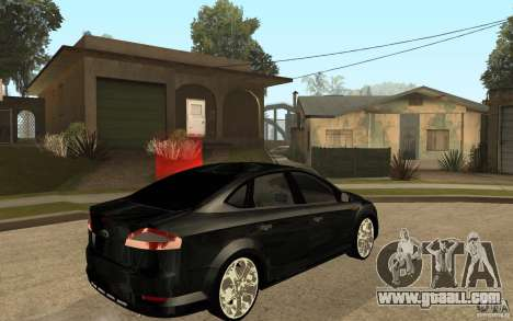 Ford Mondeo 2009 for GTA San Andreas right view