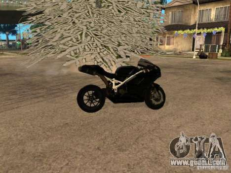 Ducati RS09 for GTA San Andreas back left view