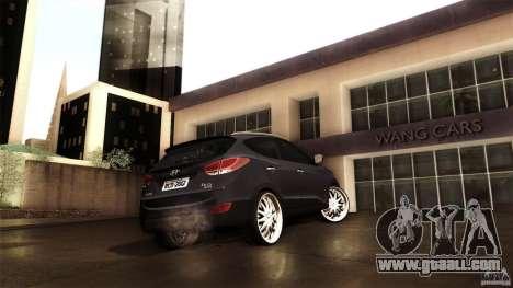 Hyundai iX35 Edit RC3D for GTA San Andreas inner view
