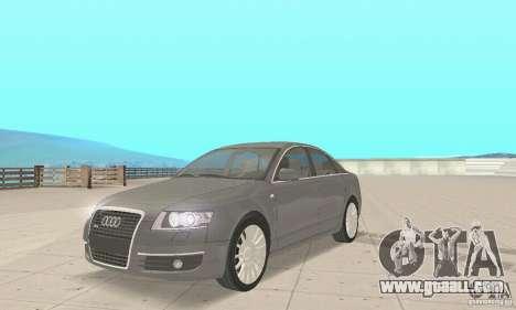 Audi A6 3.0 TDI quattro 2004 for GTA San Andreas