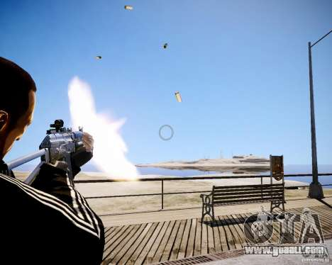AKS-74U for GTA 4 fifth screenshot